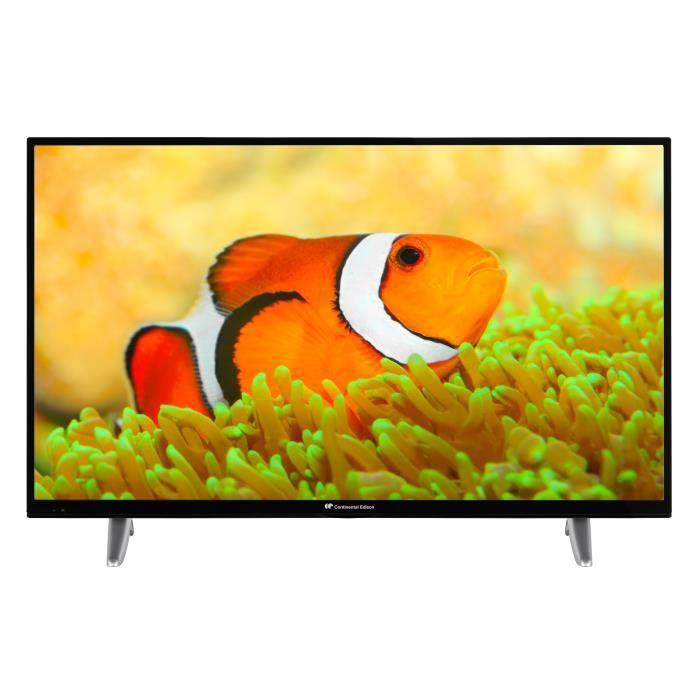Téléviseur LED Continental Edison Smart TV LED 43 (108 cm) 4KUHD