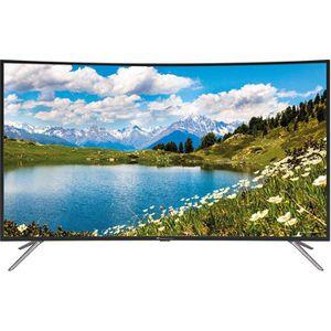 Téléviseur LED CONTINENTAL EDISON TV LED incurvée 4 K UHD 55' (14