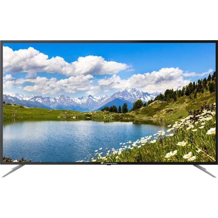 "Téléviseur LED CONTINENTAL EDISON TV LED 58"" (146 cm) - 4K Ultra"