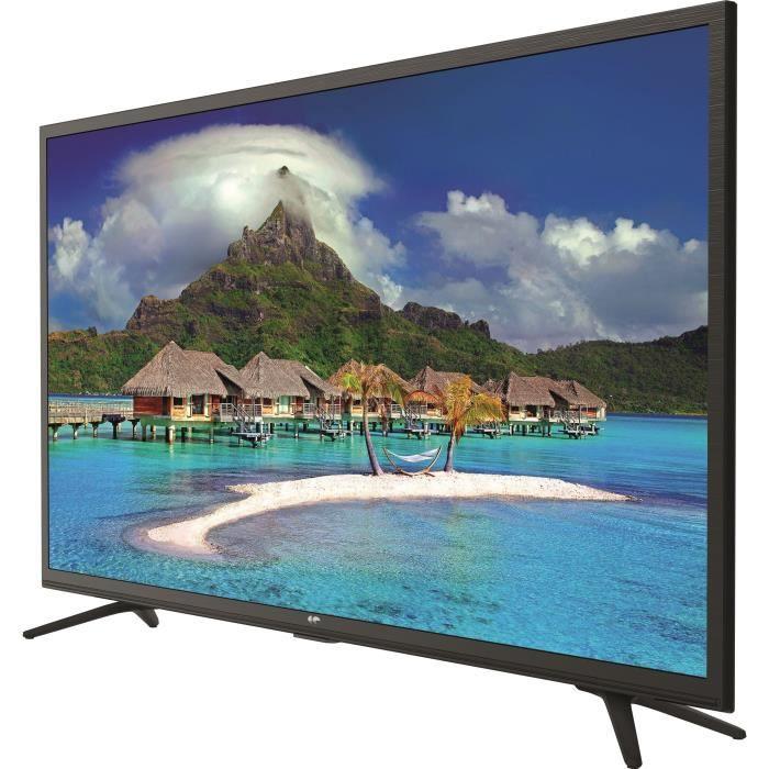 Téléviseur LED CONTINENTAL EDISON TV LED HD 32' (80 cm) - Smart T
