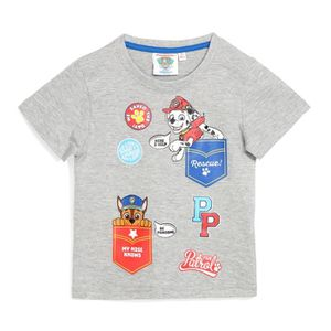T-SHIRT PAT PATROUILLE Tee-Shirt Gris Enfant Garçon Sérigr