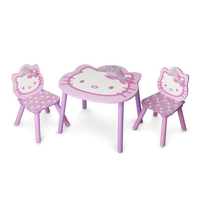 delta children hello kitty table 2 chaises enfant achat vente table jouet d 39 activit. Black Bedroom Furniture Sets. Home Design Ideas