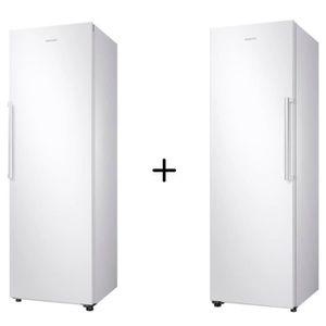 RÉFRIGÉRATEUR CLASSIQUE PACK FROID SAMSUNG RR39M7000WW-Réfrigérateur-385 L