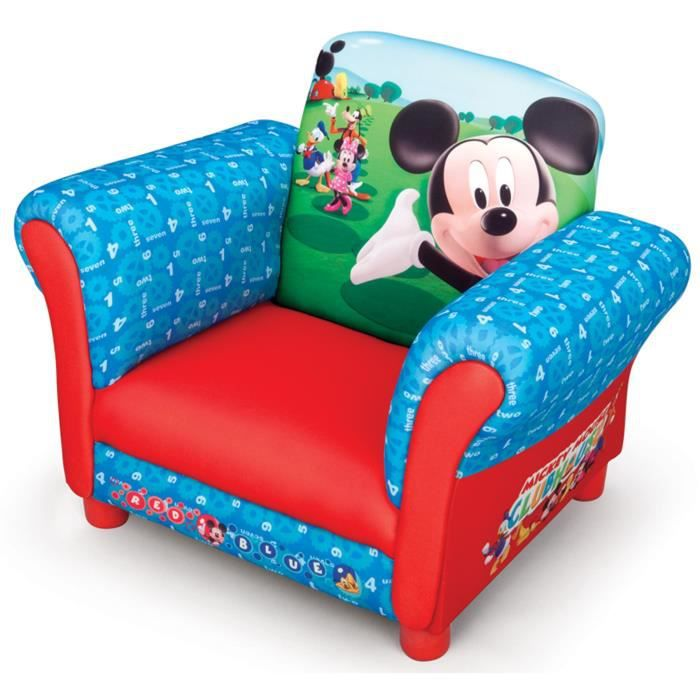 mickey fauteuil chesterfield enfant achat vente. Black Bedroom Furniture Sets. Home Design Ideas