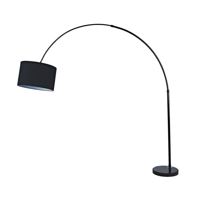 arno lampadaires arc 195 cm noir achat vente arno lampadaires arc 195 cm cdiscount. Black Bedroom Furniture Sets. Home Design Ideas