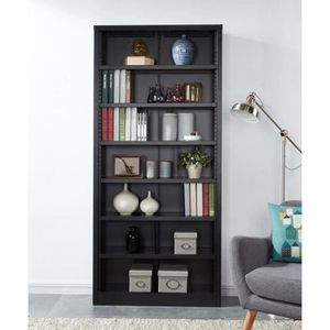 bibliotheque style industriel achat vente bibliotheque style industriel pas cher cdiscount. Black Bedroom Furniture Sets. Home Design Ideas