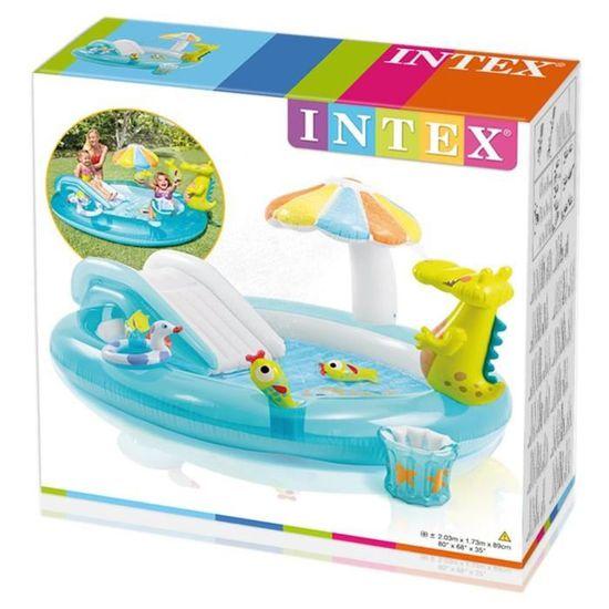 INTEX Aire de jeux alligator