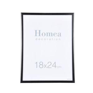 CADRE PHOTO HOMEA Cadre photo Harmonie 18x24 cm noir