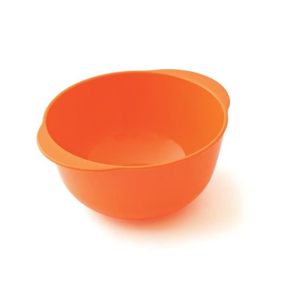 plastorex Assiette Micro-Ondable en Polypropyl/ène Orange Agrume Translucide 18,5 cm