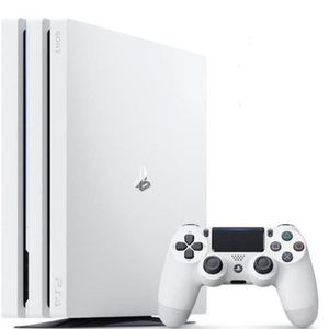 JEU PS4 PS4 Pro 1 To Blanche