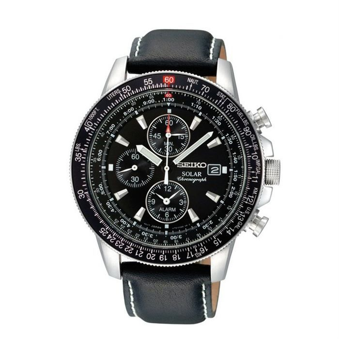 seiko montre chronographe homme achat vente montre seiko montre homme soldes d t cdiscount. Black Bedroom Furniture Sets. Home Design Ideas