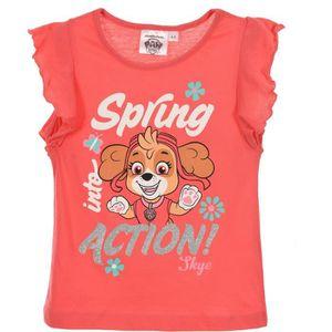 T-SHIRT PAW PATROL T-shirt manches courtes à volants Fille