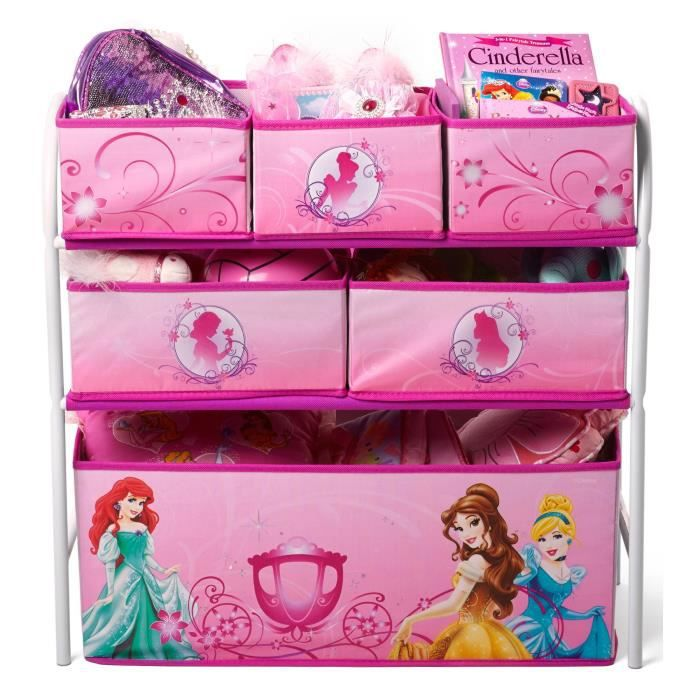 disney princesses meuble de rangement enfant jouets 6 bacs achat vente commode de chambre. Black Bedroom Furniture Sets. Home Design Ideas