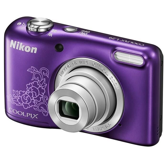 APPAREIL PHOTO COMPACT NIKON L29 Compact Violet - 16 MP Zoom 5x