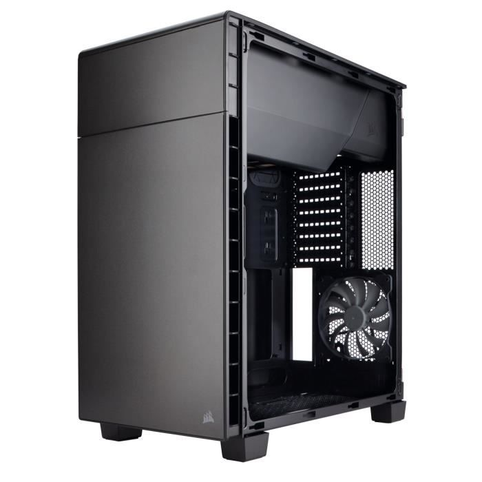 corsair bo tier pc carbide clear 600c prix pas cher cdiscount. Black Bedroom Furniture Sets. Home Design Ideas