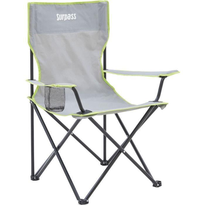 SURPASS - Fauteuil de camping pliable - Avec sac de transport