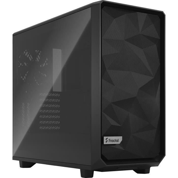 FRACTAL DESIGN BOITIER PC Meshify 2 - Noir - Verre trempé - Format E-ATX (FD-C-MES2A-02)