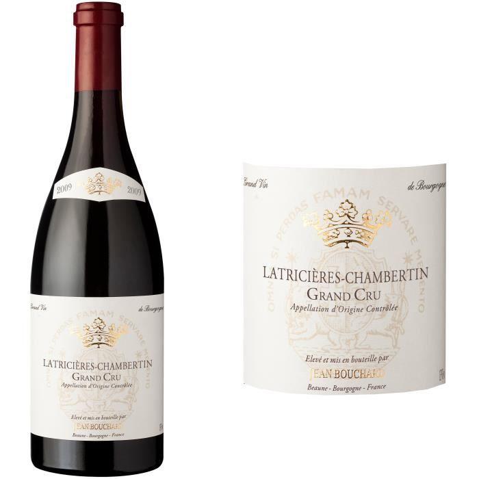 Jean Bouchard 2009 Latricières Chambertin Grand Cru - Vin rouge de Bourgogne
