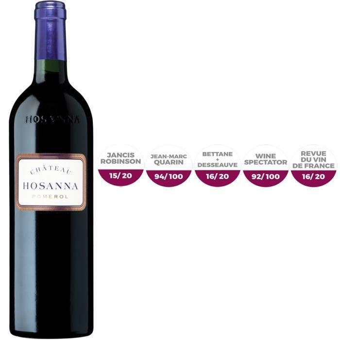 Château Hosanna 2011 Pomerol 2011 - Vin rouge de Bordeaux