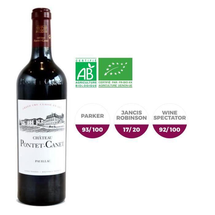 Château Pontet Canet 2011 Pauillac Grand Cru - Vin rouge de Bordeaux