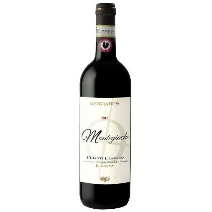 Montegiachi 2012 Chianti Classico - Vin rouge d'Italie