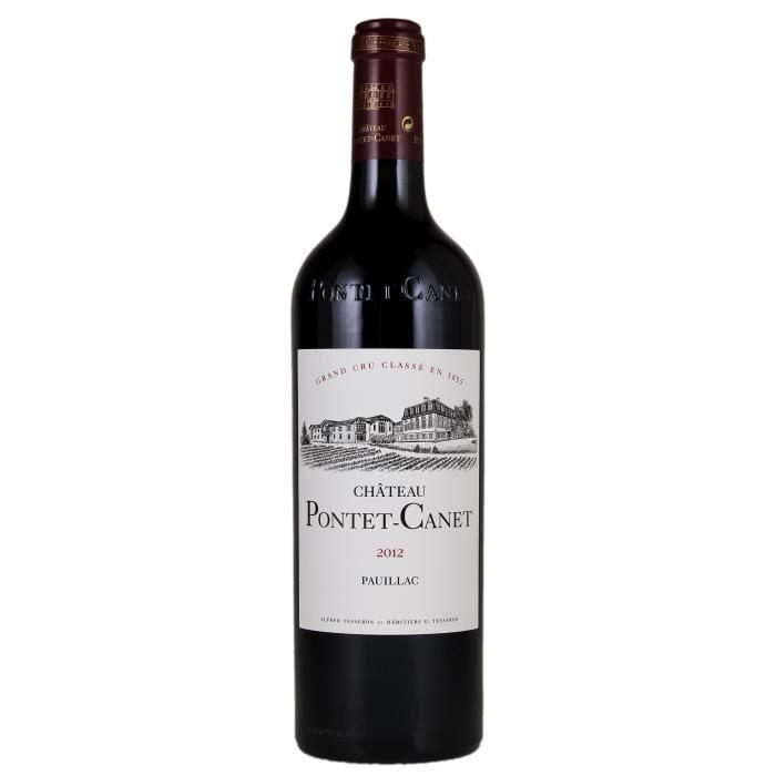 Château Pontet Canet 2012 Pauillac Grand Cru - Vin rouge de Bordeaux
