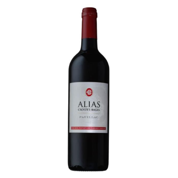 Alias de Croizet Bages 2014 Pauillac - Vin rouge de Bordeaux