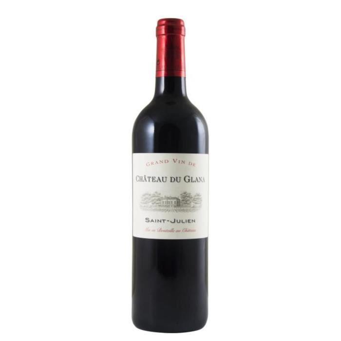 Château Du Glana 2014 Saint Julien - Vin Rouge du Bordelais x1