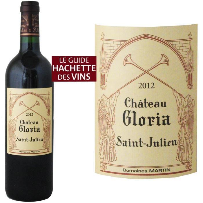 Château Gloria 2014 Saint-Julien - Vin rouge de Bordeaux