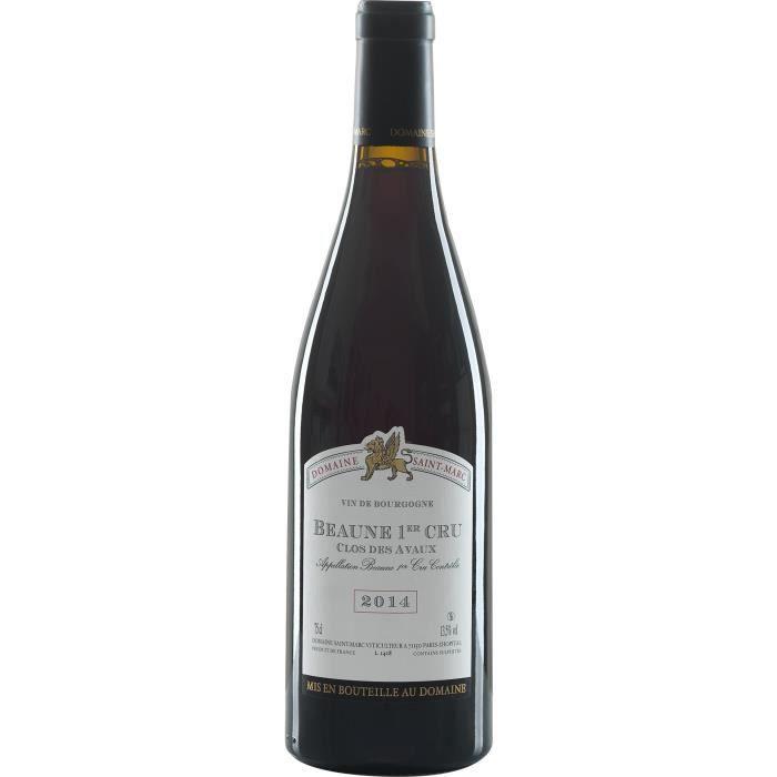 Domaine Saint Marc 2014 Beaune 1er Cru - Vin rouge de Bourgogne