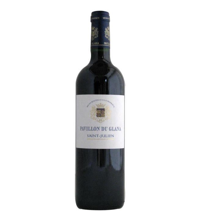 PAVILLON DU GLANA 2016 Second Vin Saint Julien - Vin Rouge du Bordelais