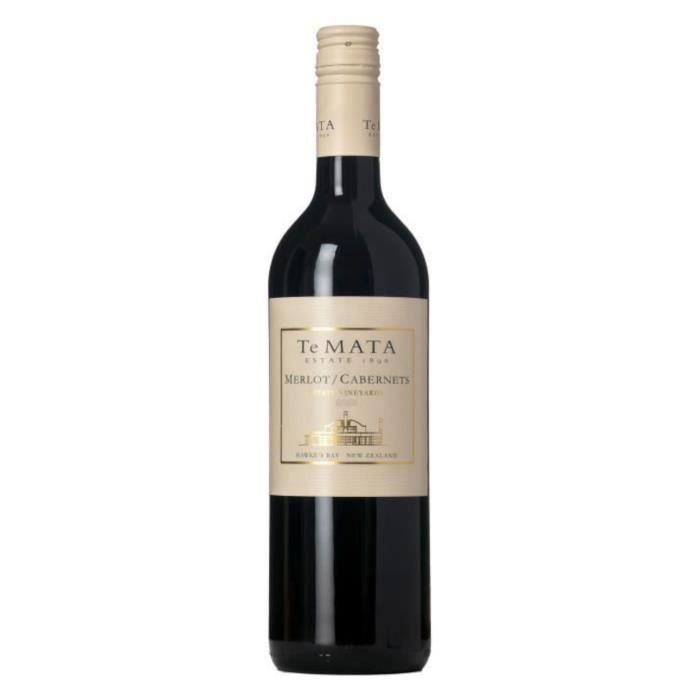 Te Mata Estate 2016 Merlot Cabernet - Vin rouge de Nouvelle-Zélande