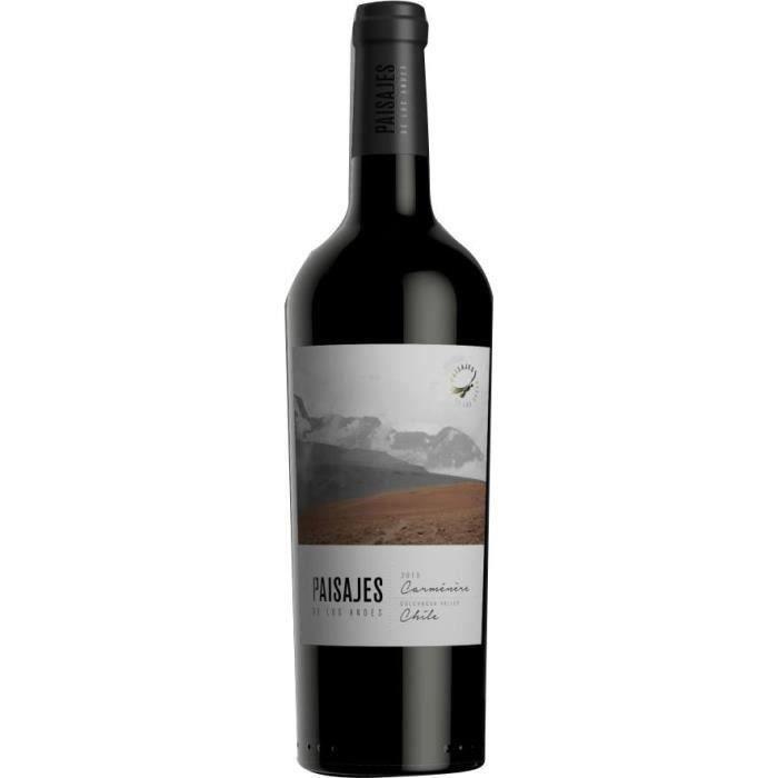 Paisajes de Los Andes 2017 Carmenere - Vin rouge du Chili