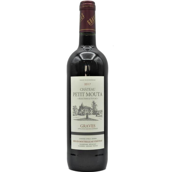 Château Petit Mouta 2017 Graves - Vin rouge de Bordeaux