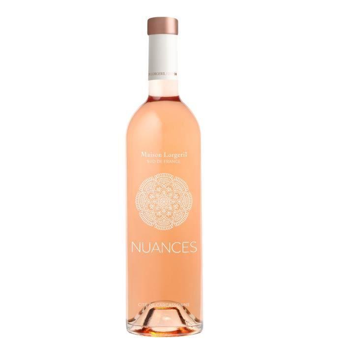 Nuances 2018 IGP Carcassonne - Vin rosé du Languedoc Roussillon
