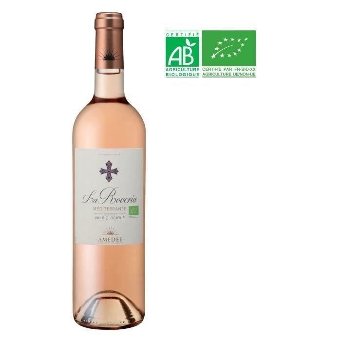 La Rovéria IGP Méditerranée - Vin rosé - Bio