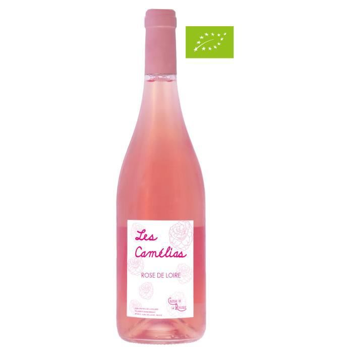 Château de la Roulerie 2020 Rosé de Loire - Vin rosé de la Loire - Vegan