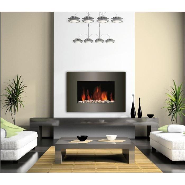 CARRERA Luna 1800 watts Cheminée électrique décorative et chauffage d'appoint