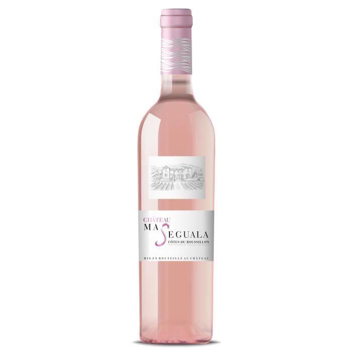 Château Mas Séguala 2020 Côtes du Roussillon - Vin rosé de Languedoc Roussillon