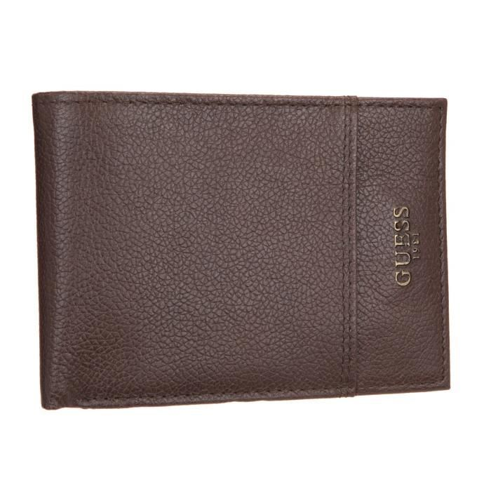 GUESS Portefeuille FLINT SM1324 Marron Homme