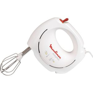MOULINEX - Batteur Easy max blanc/rouge - ABM11A30