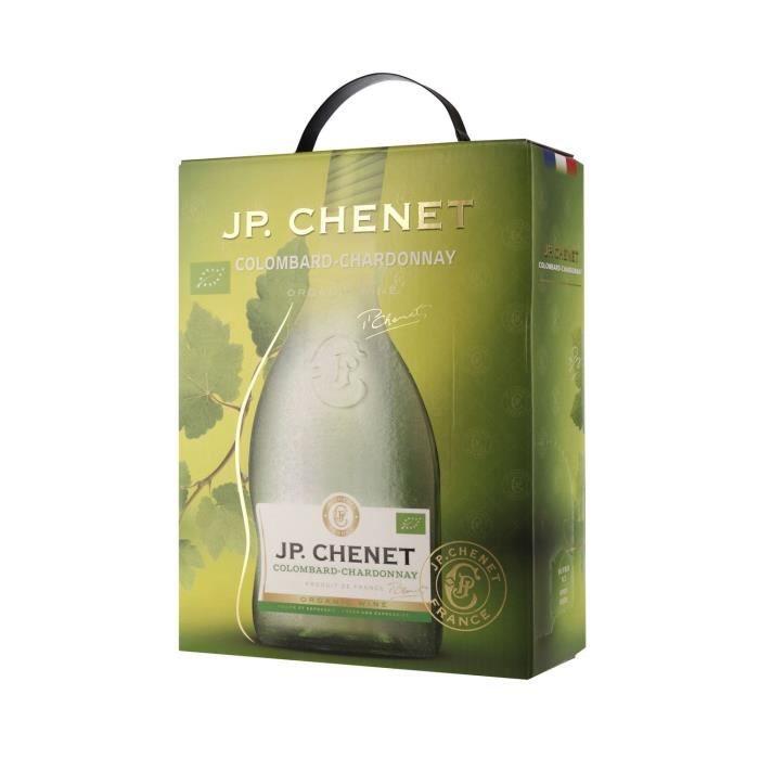 JP Chenet IGP Pays d'Oc Colombard Chardonnay - Vin blanc du Languedoc Roussillon - 3L