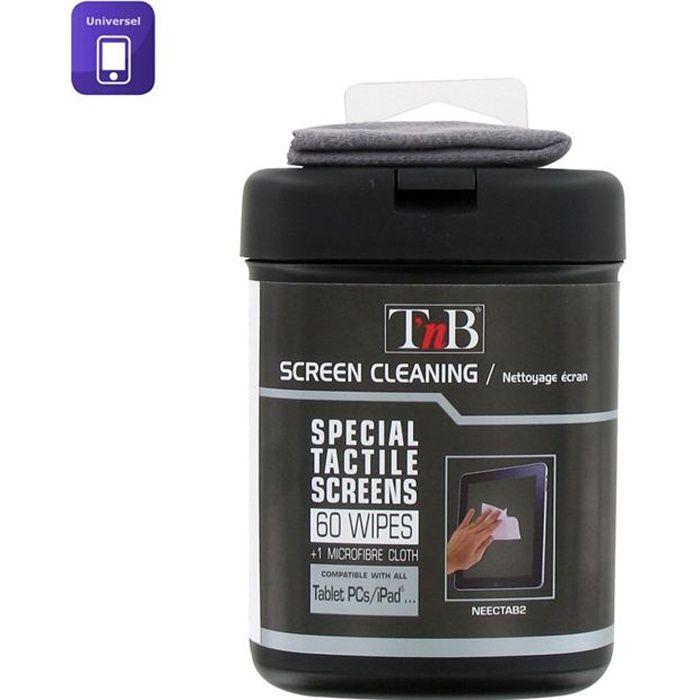 T'NB boîte de 60 lingettes pour tablettes et PC
