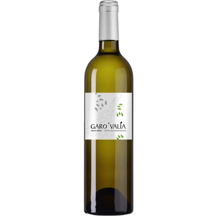 Garovalia Deux Rives 2019 Côtes du Marmandais - Vin blanc du Sud Ouest