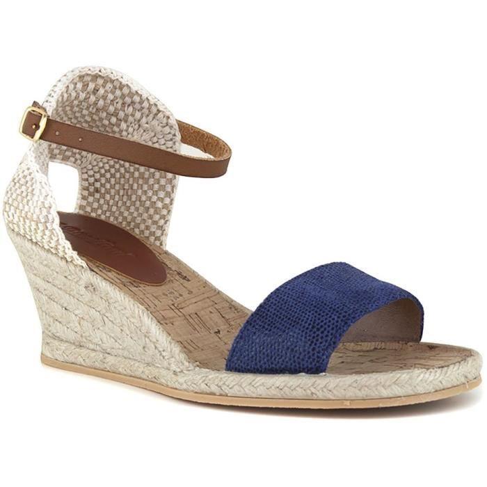 J.BRADFORD Chaussures Espadrilles JB-Beselga Bleu Femme