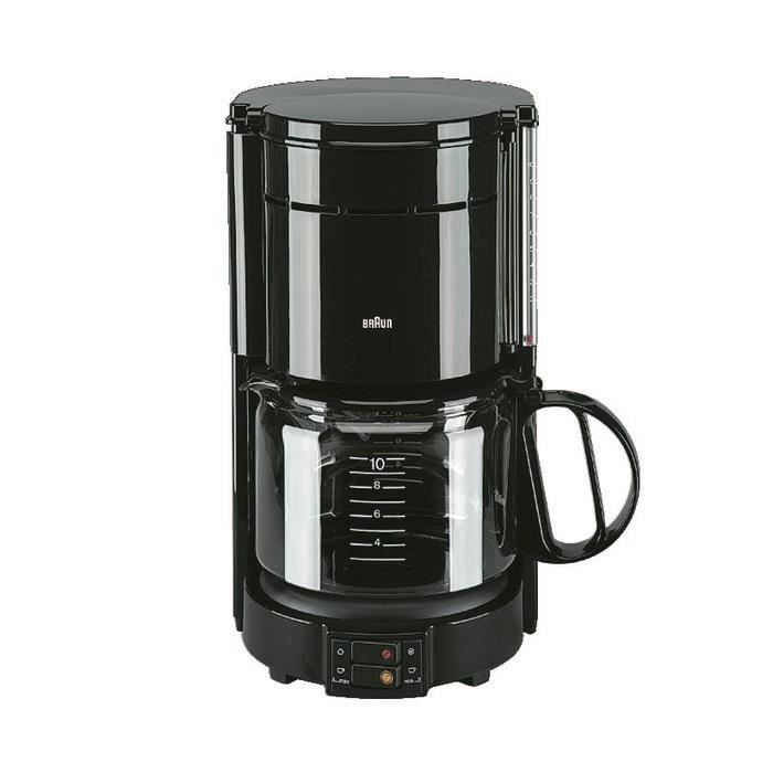 BRAUN KF47/1 Cafetière filtre Aromaster Classic - Noir