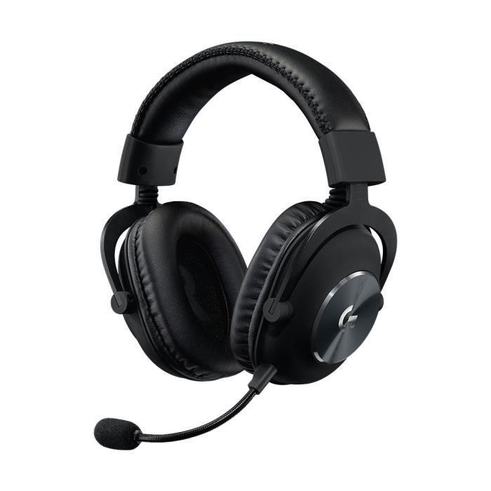 LOGITECH Casque PRO X Gaming Headset Noir
