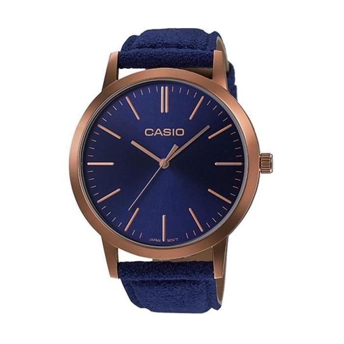 CASIO Basic Vintage Femme Marron et Bleu