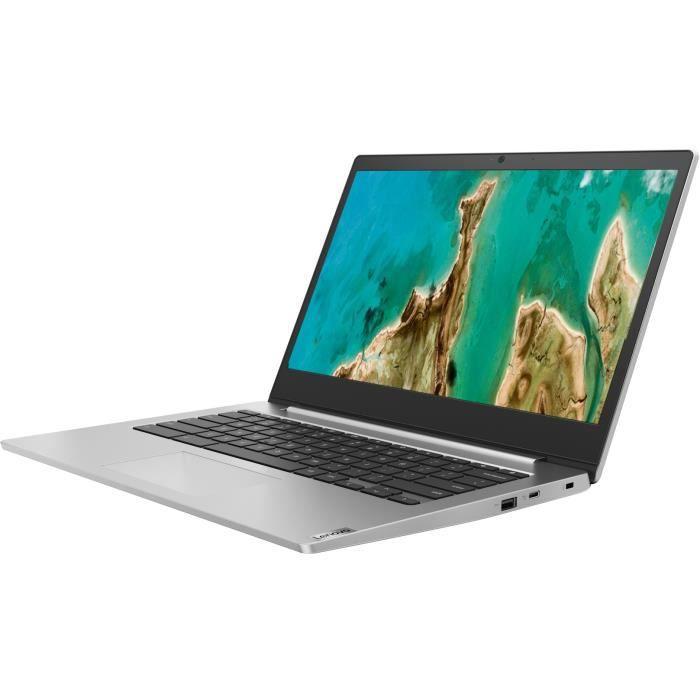 Ordinateur portable Chromebook LENOVO Ideapad IP 3 CB 14IGL05 - 14- HD - Celeron N4020 - RAM 4Go - 64Go eMMC - Chrome OS - AZERTY