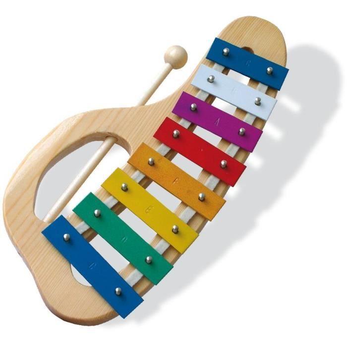 Xylophone métal